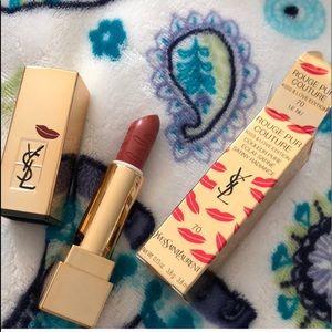 New YSL lipstick #70.